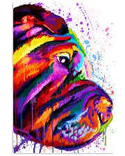 Shar Pei Water Color 16x24 Poster front