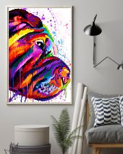 Shar Pei Water Color 16x24 Poster lifestyle-poster-1