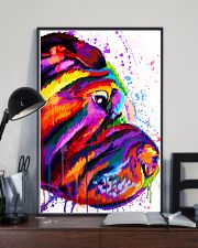 Shar Pei Water Color 16x24 Poster lifestyle-poster-2