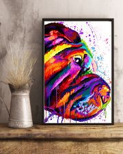 Shar Pei Water Color 16x24 Poster lifestyle-poster-3