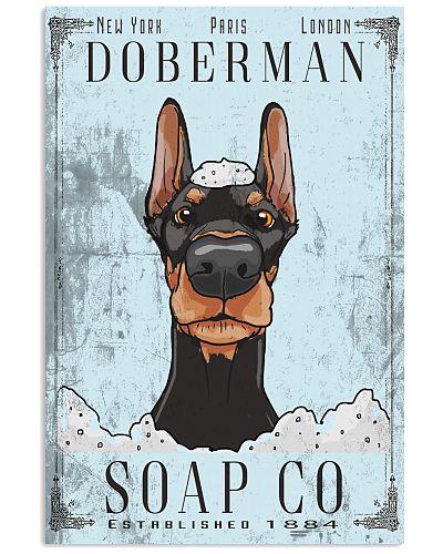 Doberman Soap