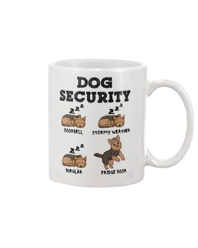 Yorkie Dog Security