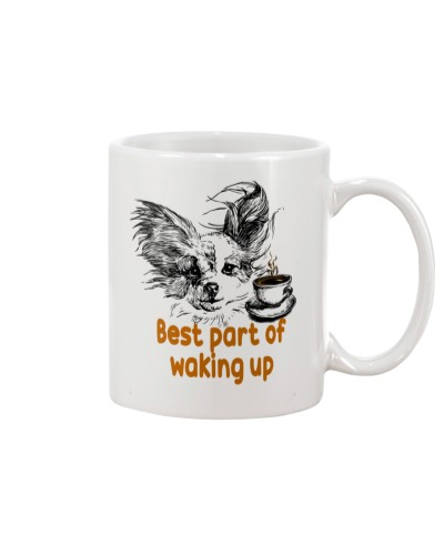Chihuahua waking up