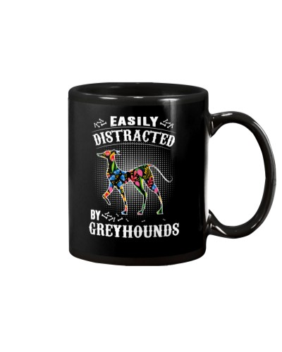 Greyhounds Distracted