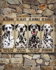 Dalmatian Be Strong 36x24 Poster aos-poster-landscape-36x24-lifestyle-15