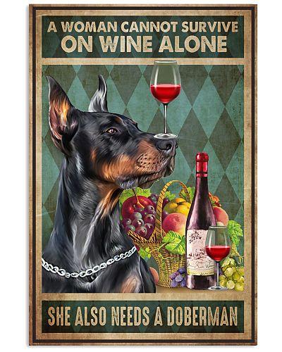 Doberman wine