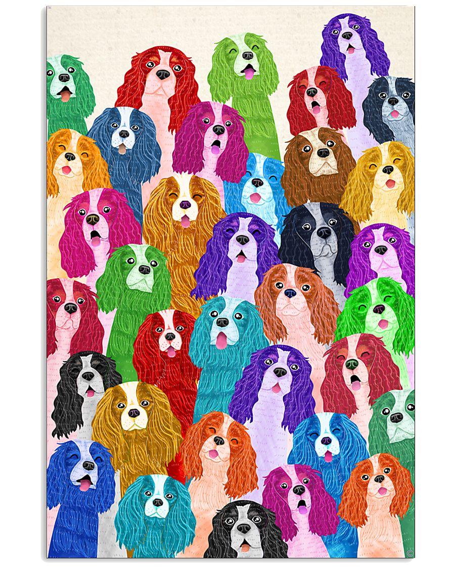 Cavalier Poster Multi-dog 11x17 Poster