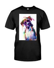 Boxer Poster Great Art V1 Classic T-Shirt thumbnail