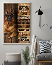 German Sherpherd  I loved You  24x36 Poster lifestyle-poster-1