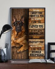 German Sherpherd  I loved You  24x36 Poster lifestyle-poster-2