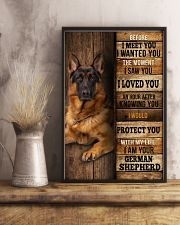 German Sherpherd  I loved You  24x36 Poster lifestyle-poster-3
