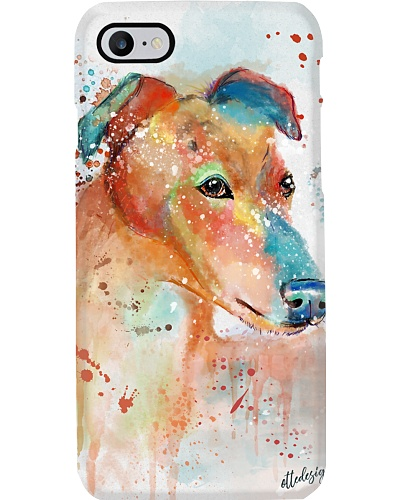 Greyhound Water Color Phone Case