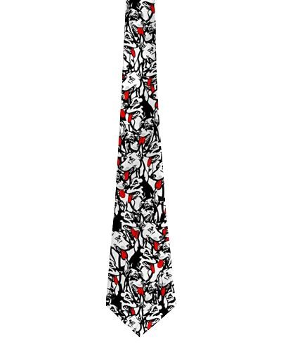 Doberman tie pattern