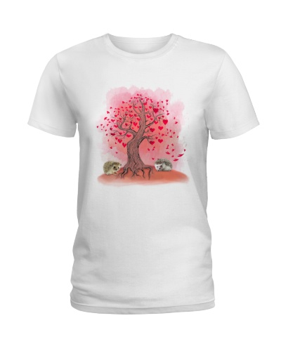 hedgehog tree love