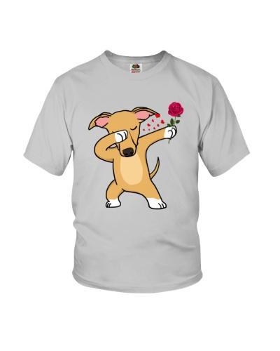 Greyhound Love Rose