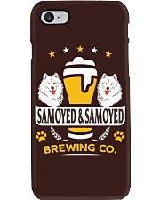 SAMOYED AND BEER HOODIE Phone Case thumbnail