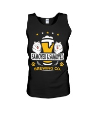 SAMOYED AND BEER HOODIE Unisex Tank thumbnail
