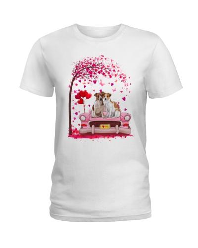 Jack Russell Dog Valentine