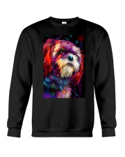 Shih tzu color Crewneck Sweatshirt thumbnail