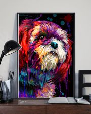 Shih tzu color 11x17 Poster lifestyle-poster-2
