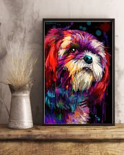 Shih tzu color 11x17 Poster lifestyle-poster-3