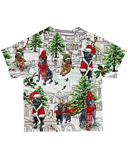 Cane Corso Christmas All-over T-Shirt back
