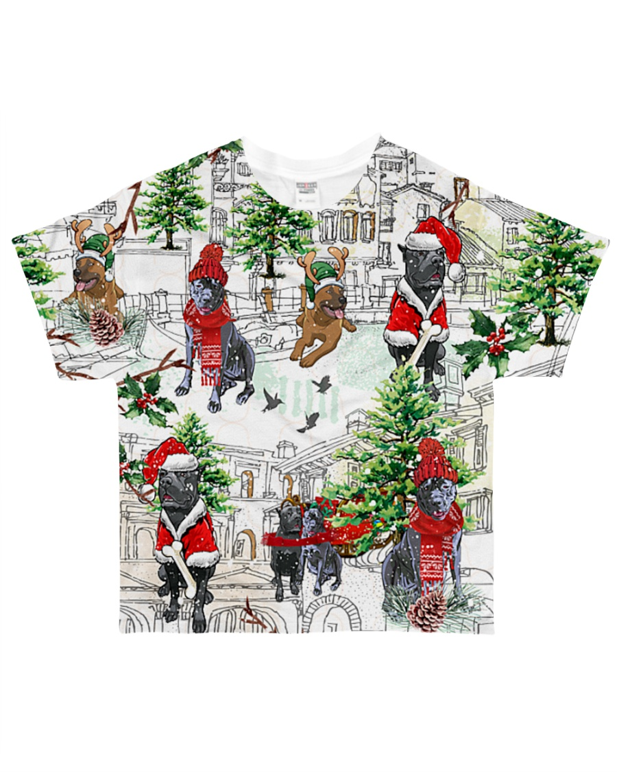 Cane Corso Christmas All-over T-Shirt