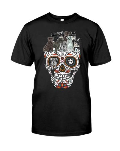 Schnauzer Skull