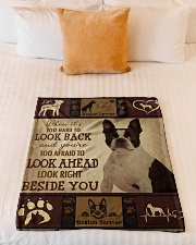 "Limited Edition Small Fleece Blanket - 30"" x 40"" aos-coral-fleece-blanket-30x40-lifestyle-front-04"