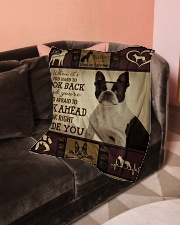 "Limited Edition Small Fleece Blanket - 30"" x 40"" aos-coral-fleece-blanket-30x40-lifestyle-front-05"