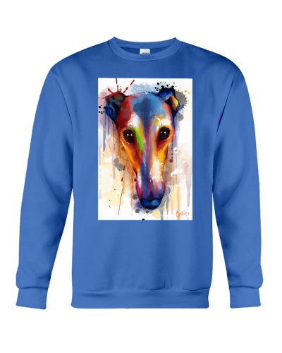 Greyhound Face Art Flow Q10