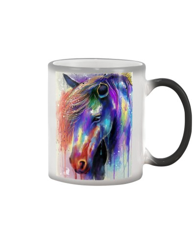 Horse Water Color