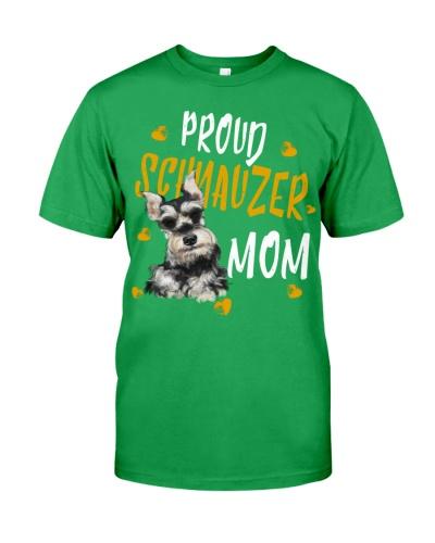 Schnauzer Proud Dog Mom