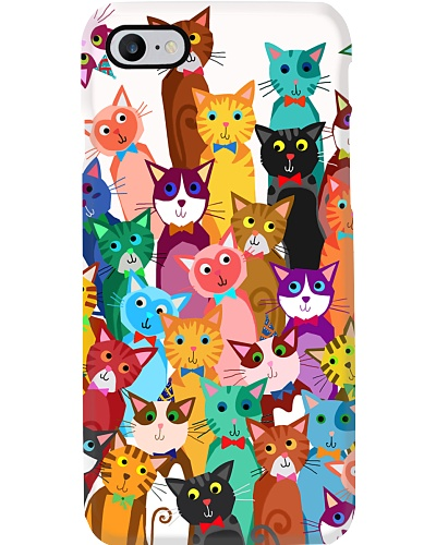 Cat Phone Case Multi