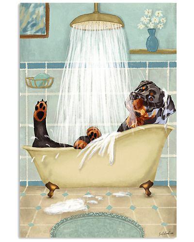 Rottweiler Bath