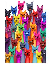 French Bulldog Mullti 16x24 Poster front