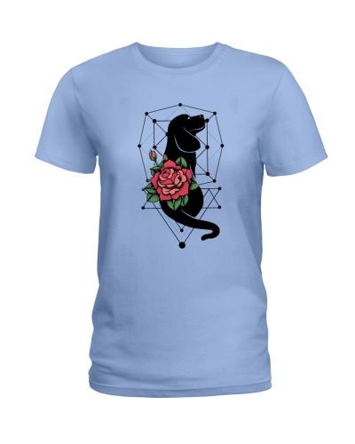 Beagle Black And Rose