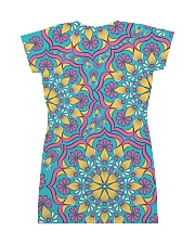 Frenchie Color All-over Dress back