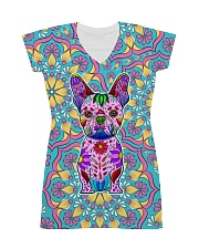 Frenchie Color All-over Dress front