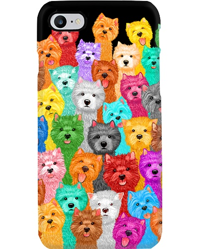 Westie Phone Case Multie