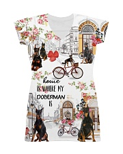Home Is My Doberman Dog Is All-over Dress thumbnail