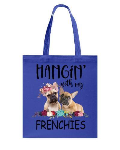 Frenchie hanging out