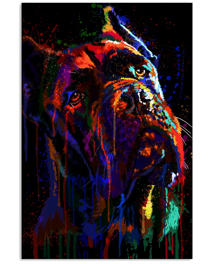 Cane Corso Water Color 16x24 Poster
