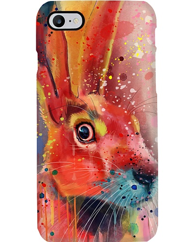 Rabbit Water Color Phone Case