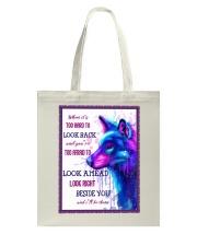 Wolf look back Tote Bag thumbnail