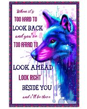 Wolf look back 11x17 Poster thumbnail