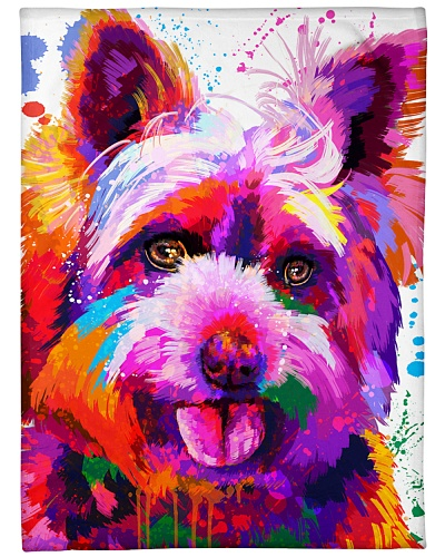 Yorkie Water Color