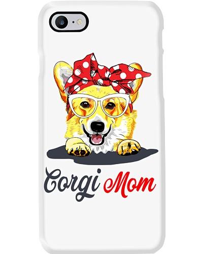 Funny Corgi Mom