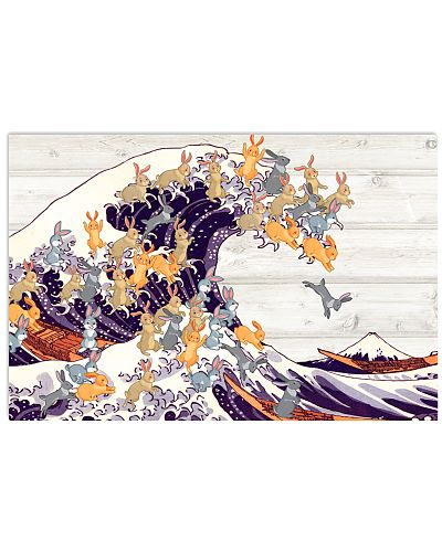 Rabbit great wave