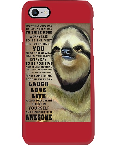 Sloth to be awesome